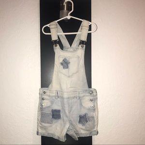 l.e.i. Girl Jeans Short Overalls